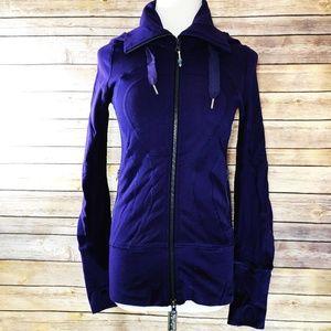 Lululemon Hooded Stride Jacket Lolo Purple